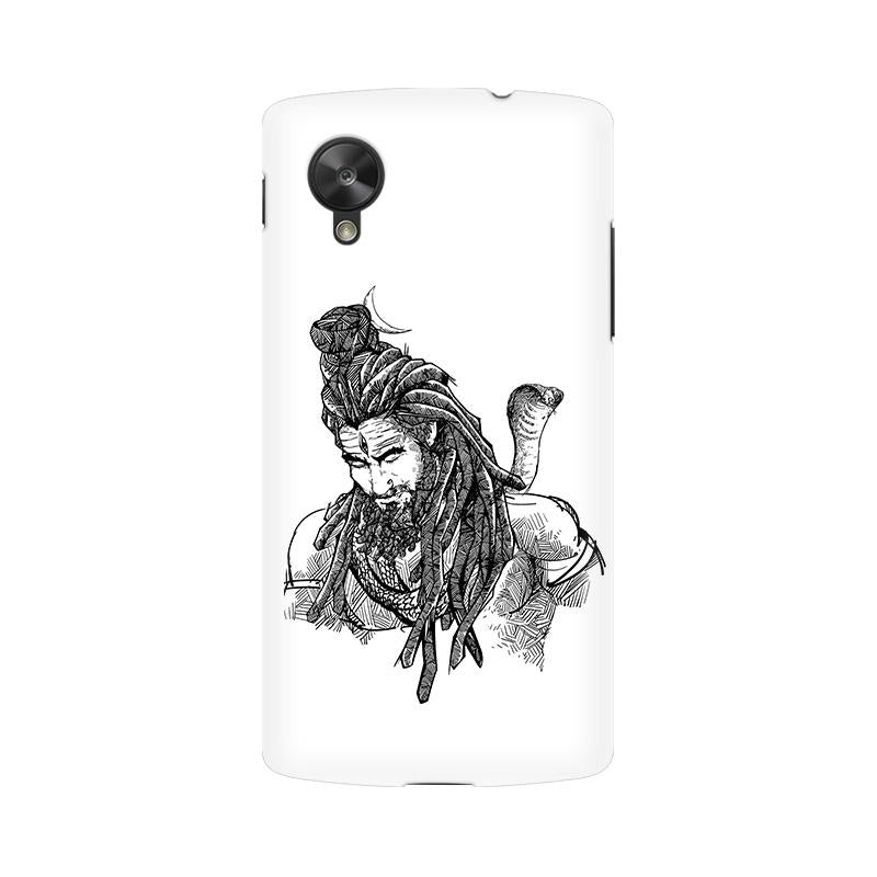 Adiyogi - Nexus 5 Mobile covers - Angi | Tamil T-shirt | Chennai T-shirt