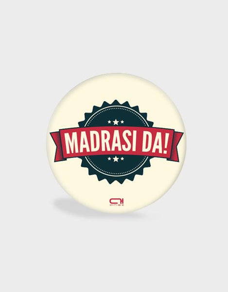 Madrasi da-Pop Socket - Angi | Tamil T-shirt | Chennai T-shirt