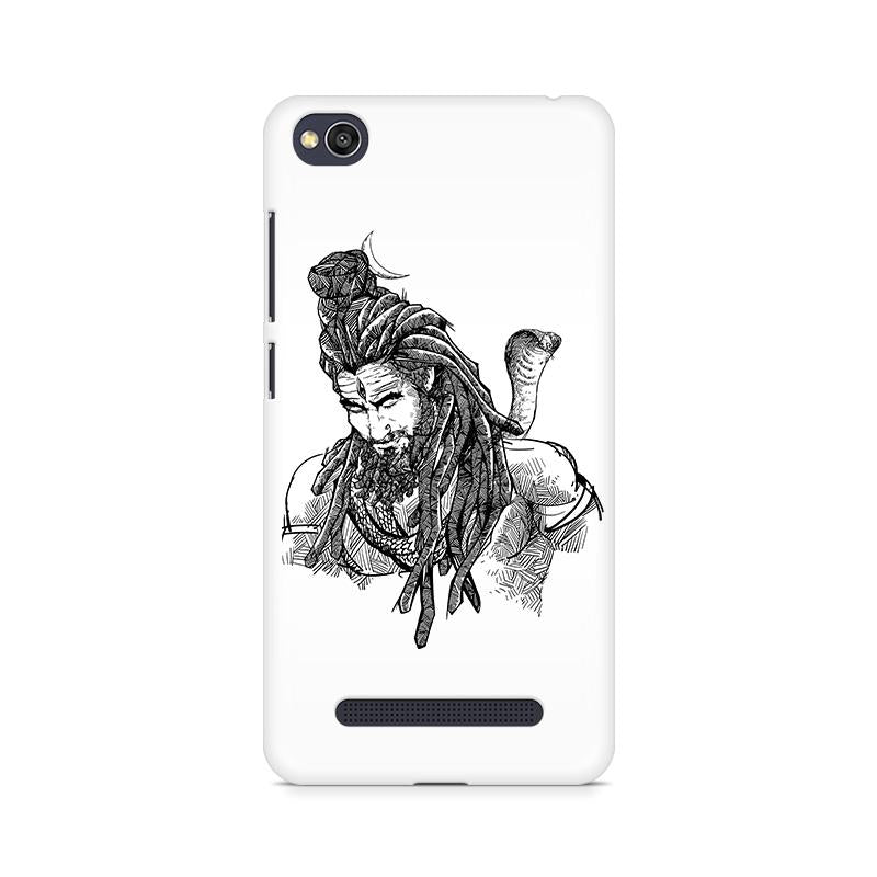 Adiyogi - Redmi 4A Mobile covers - Angi | Tamil T-shirt | Chennai T-shirt