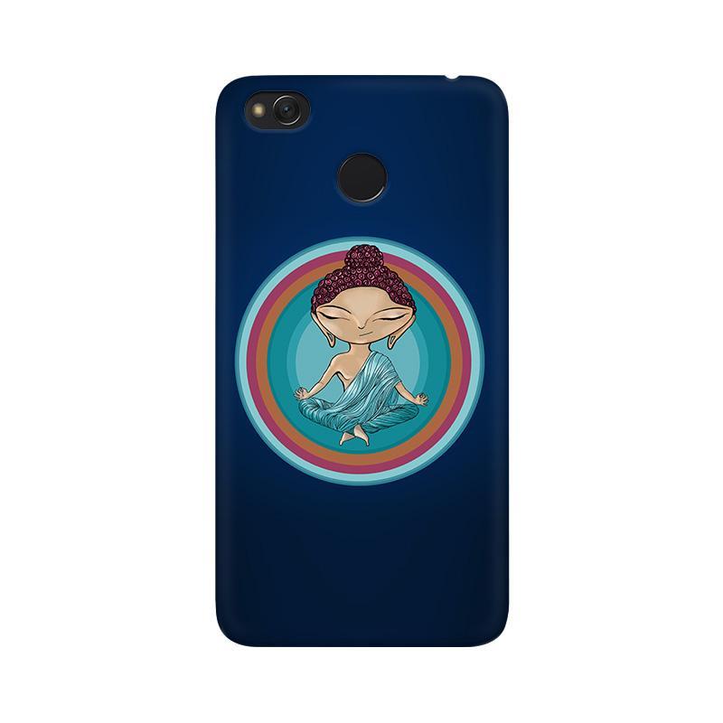 Buddha - Redmi 4X Mobile covers - Angi | Tamil T-shirt | Chennai T-shirt