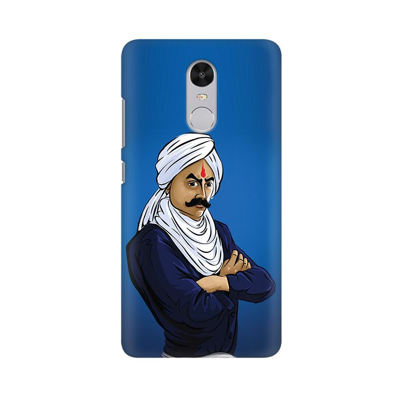Bharathiyar - Redmi Note 4X Mobile covers - Angi | Tamil T-shirt | Chennai T-shirt