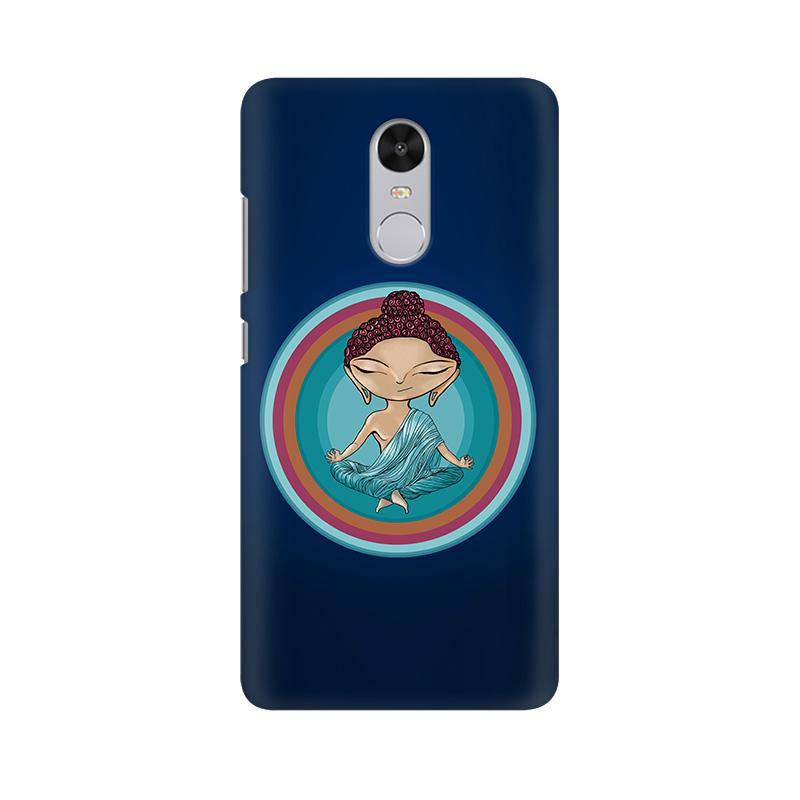 Buddha - Redmi Note 4X Mobile covers - Angi | Tamil T-shirt | Chennai T-shirt