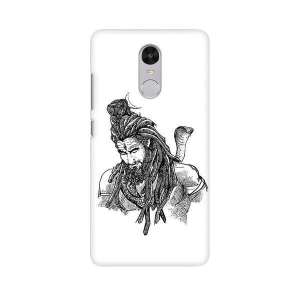 Adiyogi - Redmi Note 4X Mobile covers - Angi | Tamil T-shirt | Chennai T-shirt