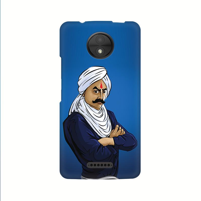 Bharathiyar - Moto C Plus Mobile covers - Angi | Tamil T-shirt | Chennai T-shirt