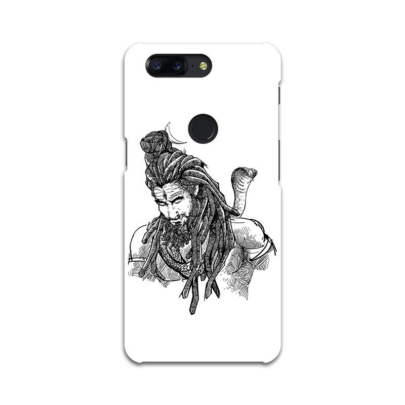 Adiyogi - One Plus 5T Mobile covers - Angi | Tamil T-shirt | Chennai T-shirt