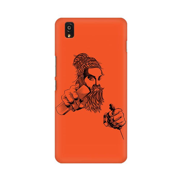Thiruvalluvar - Oneplus X Mobile covers - Angi | Tamil T-shirt | Chennai T-shirt