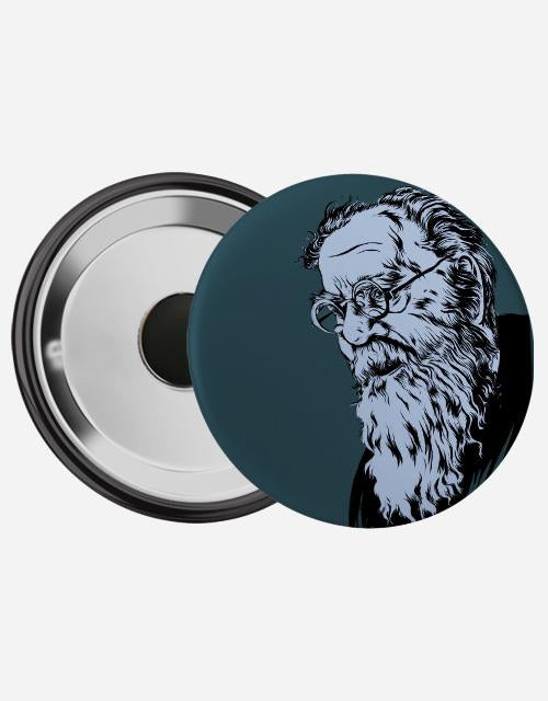 Periyar Magnetic Badge - Angi | Tamil T-shirt | Chennai T-shirt