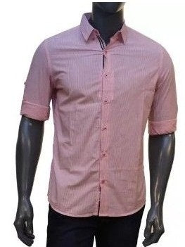 Pink Stripes Full Sleeve Shirt