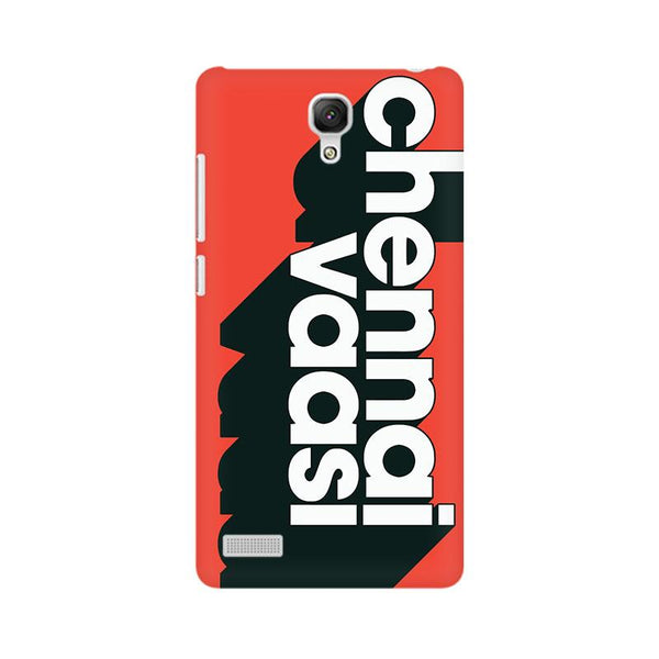 Chennai Vaasi - Redmi note Mobile covers - Angi | Tamil T-shirt | Chennai T-shirt