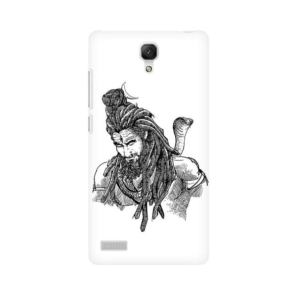 Adiyogi - Redmi note Mobile covers - Angi | Tamil T-shirt | Chennai T-shirt