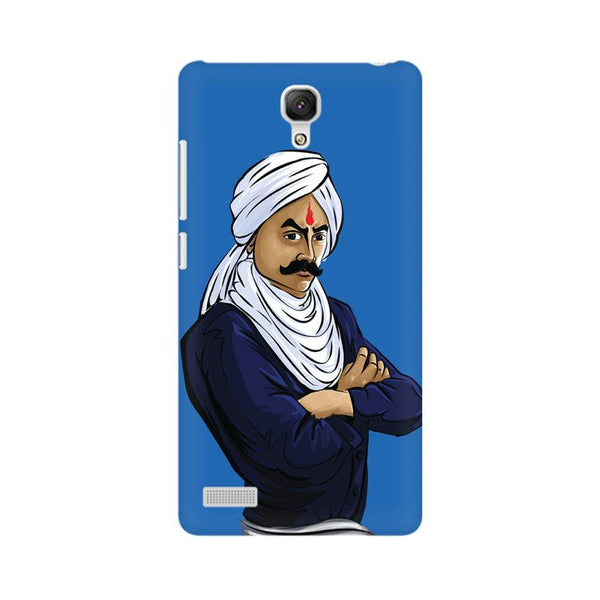 Bharathiyar - Redmi note Mobile covers - Angi | Tamil T-shirt | Chennai T-shirt