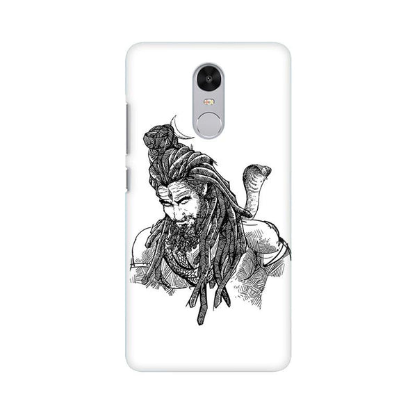 Adiyogi - Redmi note 4 Mobile covers - Angi | Tamil T-shirt | Chennai T-shirt
