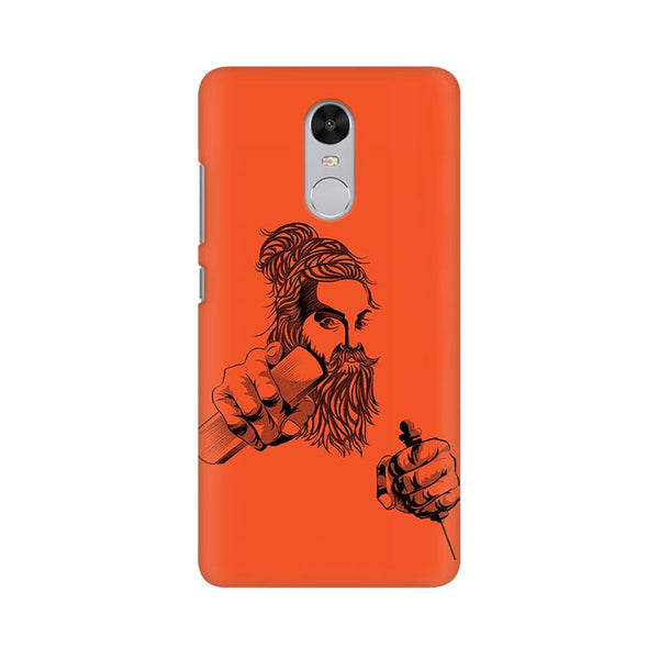 Thiruvalluvar - Redmi note 4 Mobile covers - Angi | Tamil T-shirt | Chennai T-shirt