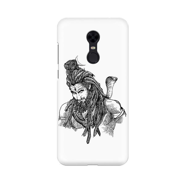 Adiyogi - Redmi Note 5 Mobile covers - Angi | Tamil T-shirt | Chennai T-shirt