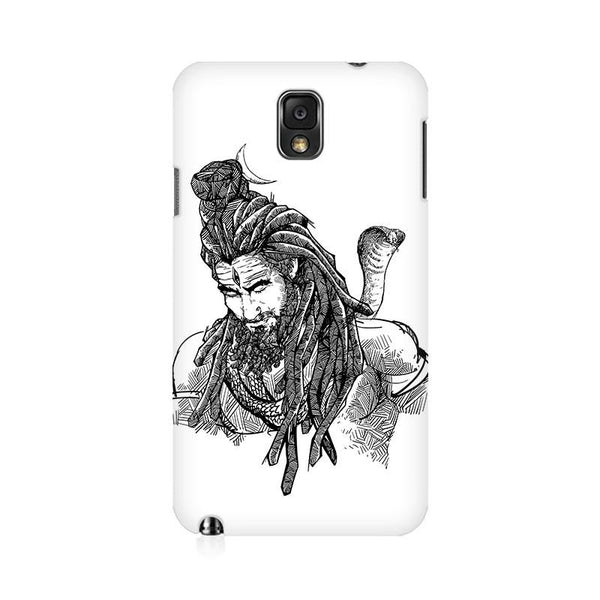 Adiyogi - Samsung note 3 Mobile covers - Angi | Tamil T-shirt | Chennai T-shirt