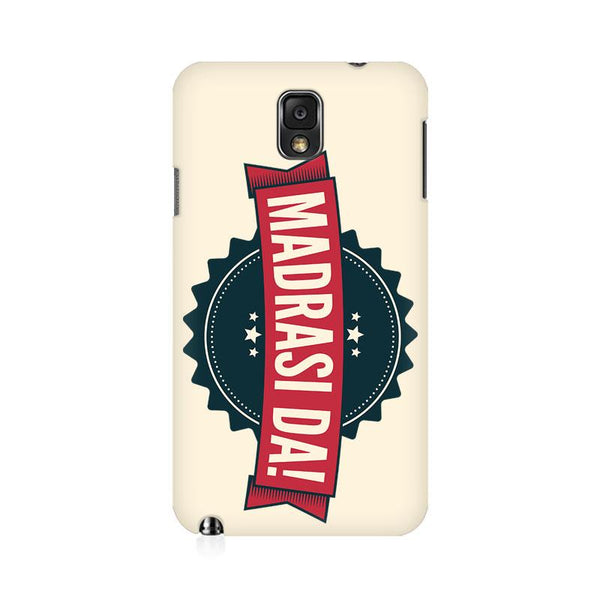 Madrasi da - Samsung note 3 Mobile covers - Angi | Tamil T-shirt | Chennai T-shirt