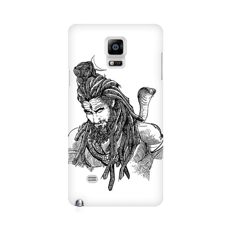 Adiyogi - Samsung note 4 Mobile covers - Angi | Tamil T-shirt | Chennai T-shirt