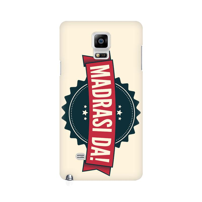 Madrasi da - Samsung note 4 Mobile covers - Angi | Tamil T-shirt | Chennai T-shirt