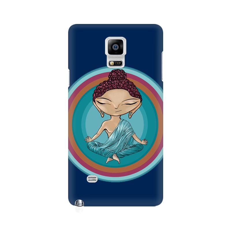 Buddha - Samsung note 4 Mobile covers - Angi | Tamil T-shirt | Chennai T-shirt
