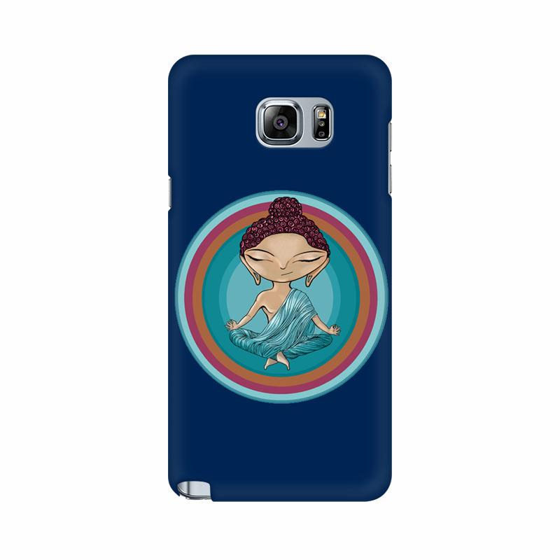 Buddha - Samsung note 5 Mobile covers - Angi | Tamil T-shirt | Chennai T-shirt