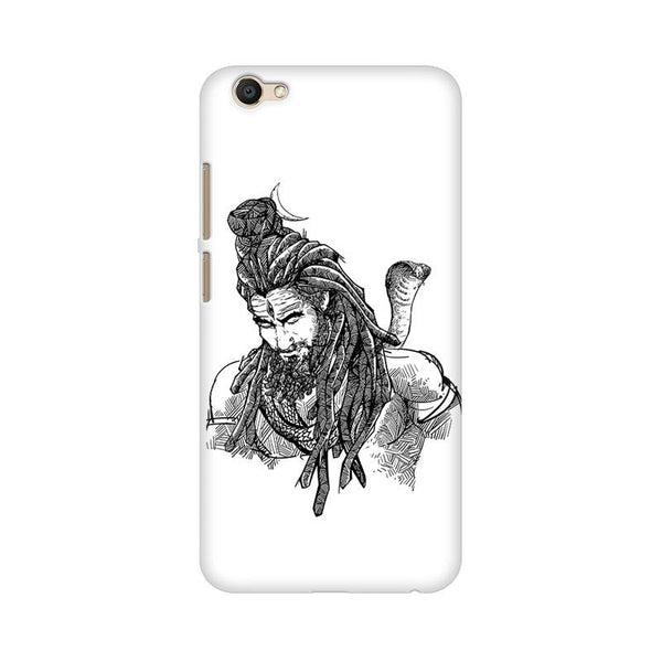 Adiyogi - Vivo V5 Plus Mobile covers - Angi | Tamil T-shirt | Chennai T-shirt