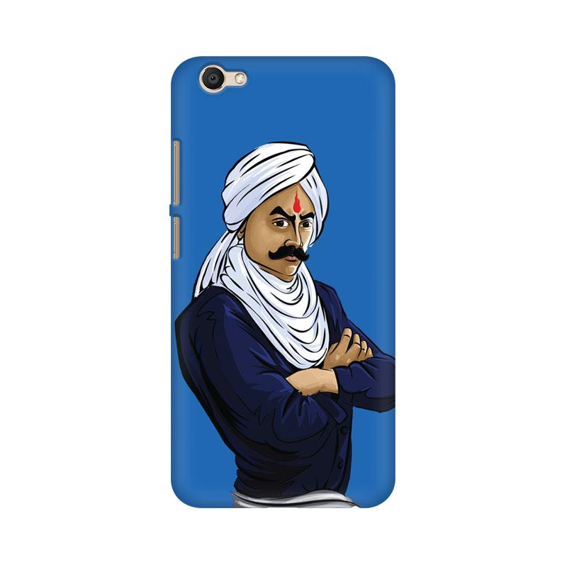 Bharathiyar - Vivo V5 Plus Mobile covers - Angi | Tamil T-shirt | Chennai T-shirt