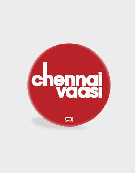 Chennai Vaasi Red-Pop Socket - Angi | Tamil T-shirt | Chennai T-shirt
