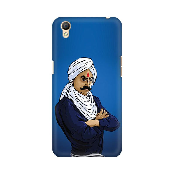 Bharathiyar - Oppo A37 Mobile covers - Angi | Tamil T-shirt | Chennai T-shirt