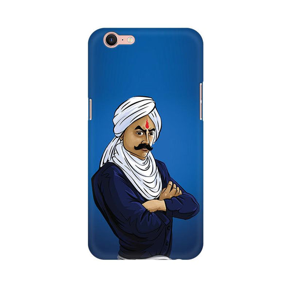Bharathiyar - Oppo A39 Mobile covers - Angi | Tamil T-shirt | Chennai T-shirt