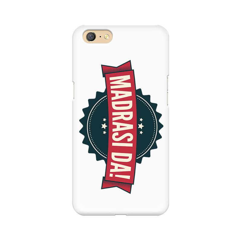 Madrasi da - Oppo A71 Mobile covers - Angi | Tamil T-shirt | Chennai T-shirt