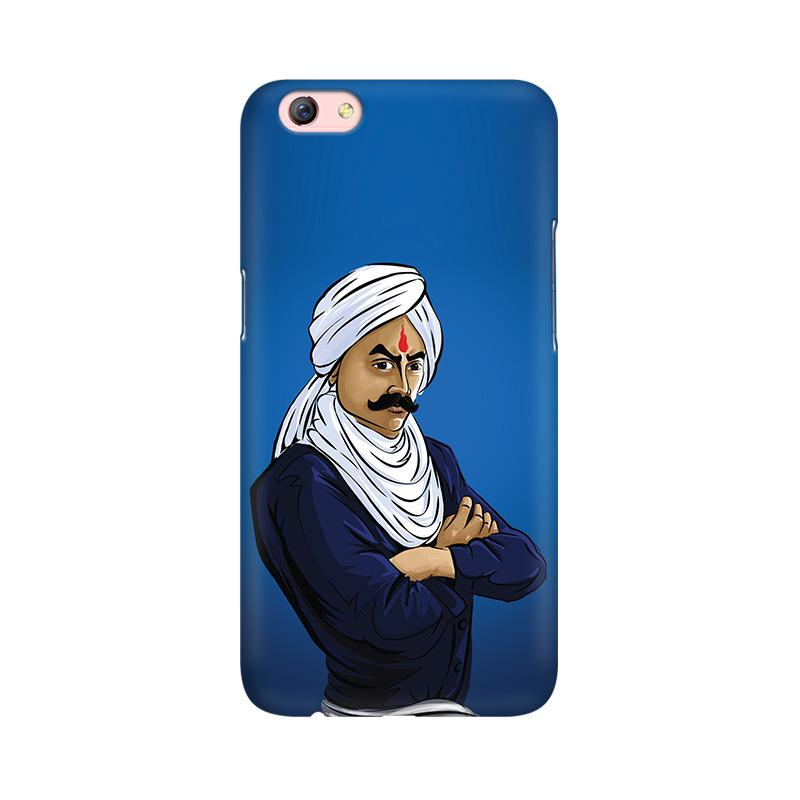 Bharathiyar - Oppo F3 Plus Mobile covers - Angi | Tamil T-shirt | Chennai T-shirt