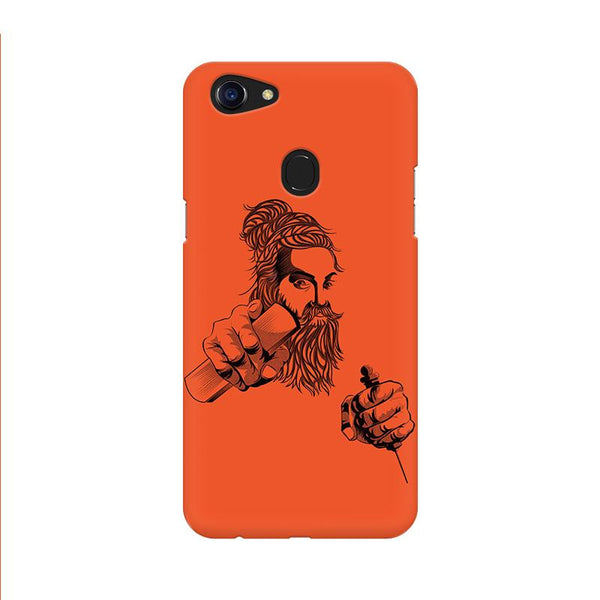 Thiruvalluvar - Oppo F5 Mobile covers - Angi | Tamil T-shirt | Chennai T-shirt