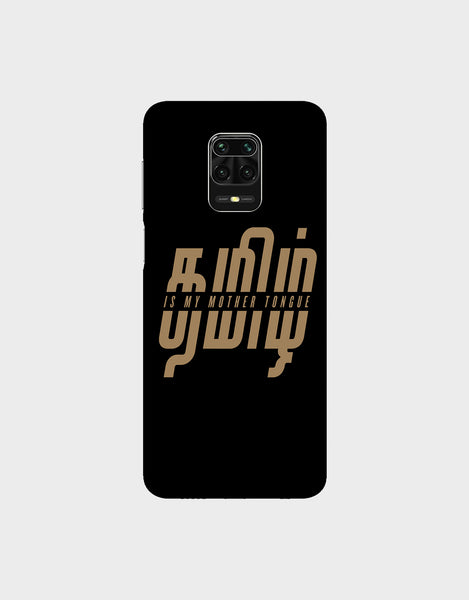 Tamil is my mother tonque -Redmi Note 9 Pro Max  Mobile covers