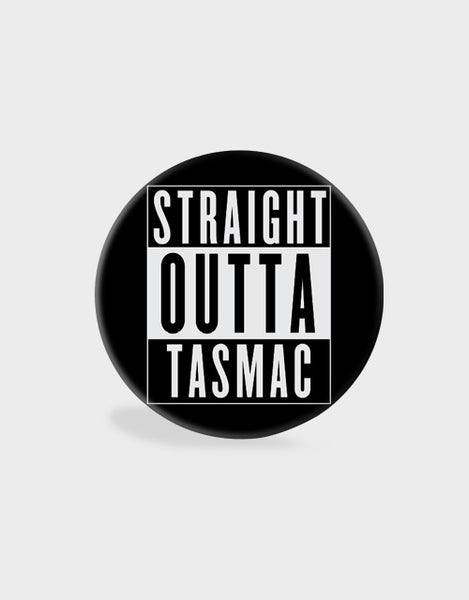 Straight Outta Tasmac Pop Socket - Angi | Tamil T-shirt | Chennai T-shirt