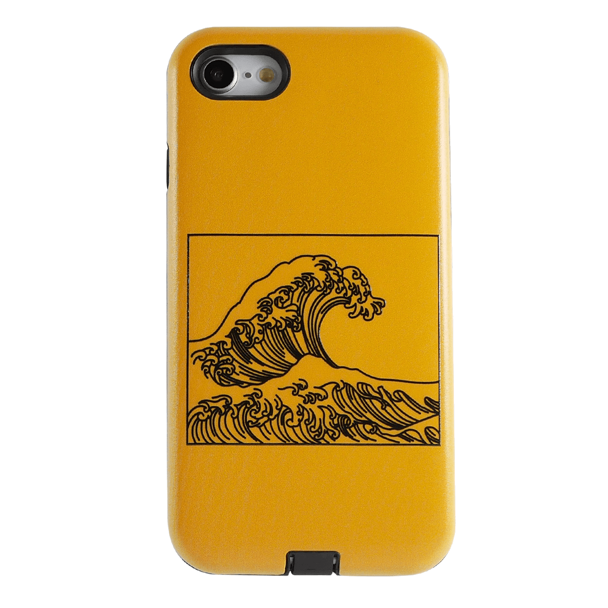 Yellow Wave iPhone Case | Shockproof