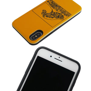 Yellow Wave iPhone Case