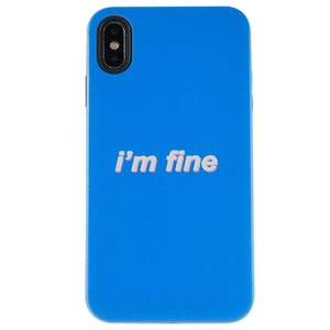 I'm Fine iPhone Case | Shockproof