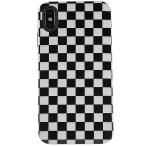Retro Checker iPhone Case | Shockproof