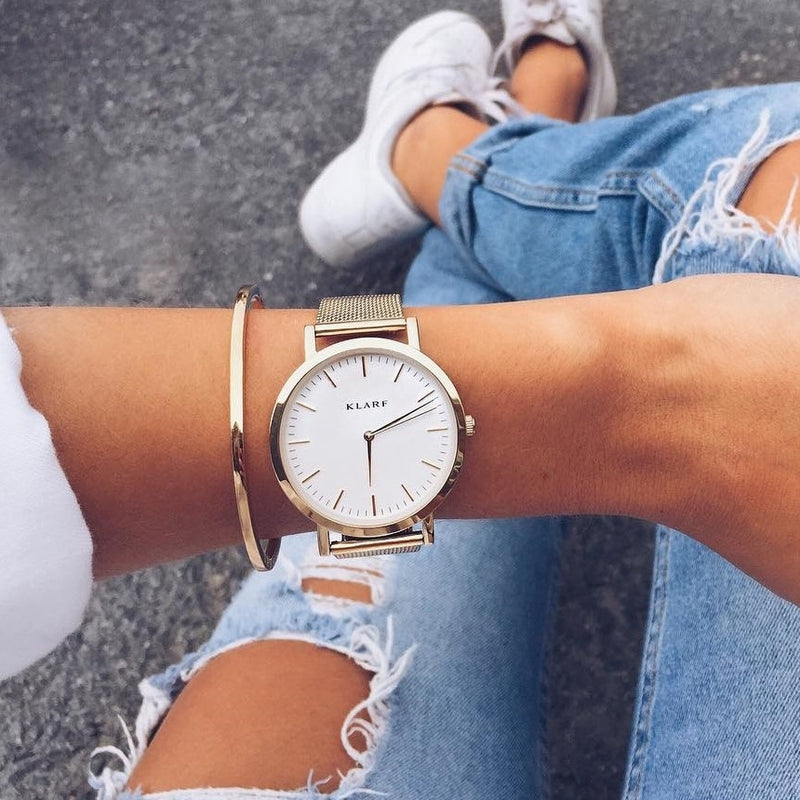Classic White & Rose Gold 3