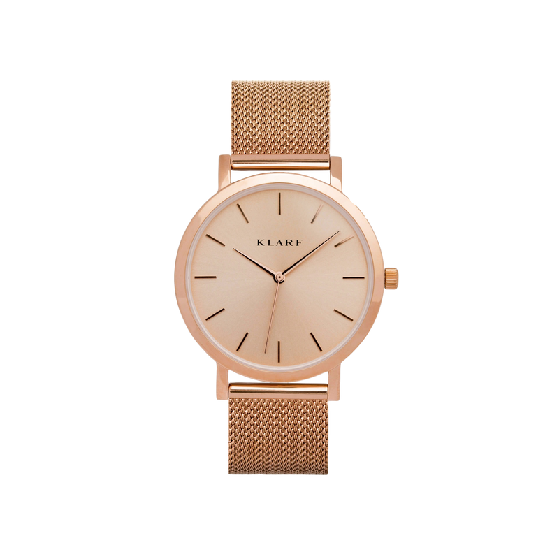 Classic Rose Sunray & Rose Gold