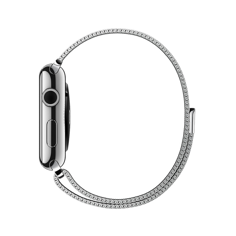 Apple Watch armbånd med meshlænke forest green 42/44 mm