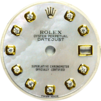 Custom Diamond Dials For Rolex