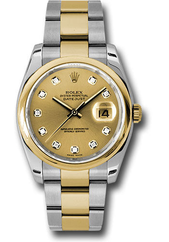 116203 chdo Rolex Oyster Perpetual Datejust Watches