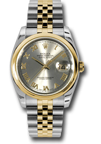 Rolex Steel and Yellow Gold Datejust-36mm #116203