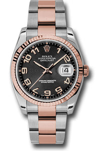 Rolex Steel and Rose Gold Datejust-36mm #116231
