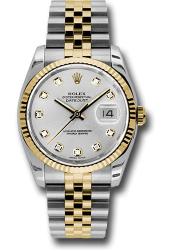 Rolex Steel and Yellow Gold Datejust-36mm #116233
