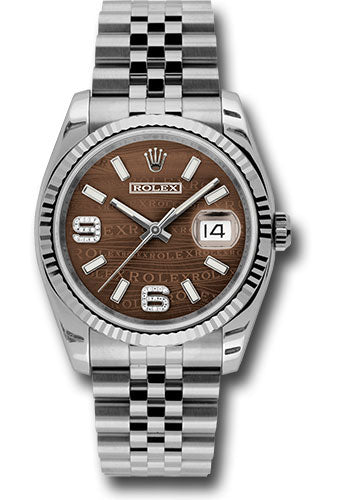 Rolex Steel and White Gold Datejust -36mm #116234