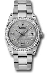 Rolex Steel Datejust- 36mm #116244