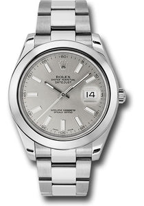 Rolex Steel Datejust II- 41mm #116300
