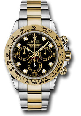 Rolex Steel and 18k YG Daytona #116503 bkd